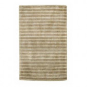 Kas Rugs Textured Stripe Platinum 2 ft. 6 in. x 4 ft. 2 in. Area Rug