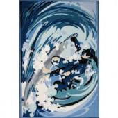 LA Rug Inc. Fun Time Surfin Multi Colored 19 in. x 29 in. Area Rug