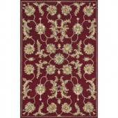 Loloi Rugs Fairfield Life Style Collection Red 7 ft. 6 in. x 9 ft. 6 in. Area Rug