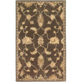 Home Decorators Collection Breton Dark Brown 2 ft. x 3 ft. Area Rug