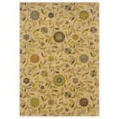 Oriental Weavers Delray Olivia Beige 1 ft. 10 in. x 2 ft. 10 in. Accent Rug
