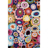 Momeni Young Buck Collection Multi 3 ft. x 5 ft. Area Rug