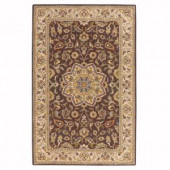 Home Decorators Collection Earley Brown/Ivory 5 ft. x 8 ft. Area Rug