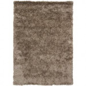 Chandra Dior Taupe/Black 9 ft. x 13 ft. Indoor Area Rug