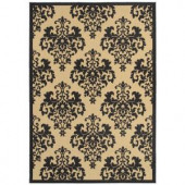 Shaw Living Lilly Onyx 5 ft. x 7 ft. 6 in. Indoor/Outdoor Area Rug