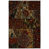 Home Decorators Collection Keswick Tomatillo Red 2 ft. x 3 ft. 4 in. Accent Rug