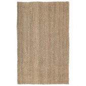 Kaleen Essential Coir Natural 20 in. x 30 in. Area Rug