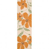 Nourison Rug Boutique Graphic Bloom Ivory 2 ft. 3 in. x 8 ft. Runner