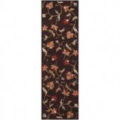 Artistic Weavers Allen Chocolate 2 ft. 6 in. x 8 ft. Runner