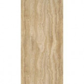 TrafficMASTER Allure Ultra 12 in. x 23.82 in. Aegean Travertine Ivory Resilient Vinyl Tile Flooring (19.8 sq. ft./case)