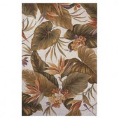 Kas Rugs Bird of Paradise Ivory 2 ft. 6 in. x 4 ft. 2 in. Area Rug