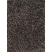 Chandra Tulip Black/Grey 9 ft. x 13 ft. Indoor Area Rug