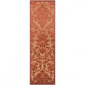 Artistic Weavers Celaya Rust 2 ft. 6 in. x 7 ft. 10 in. Runner