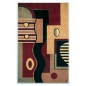 Kas Rugs Touch of Art Jeweltone 2 ft. x 3 ft. Area Rug