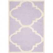 Safavieh Cambridge Lavender/Ivory 2.5 ft. x 4 ft. Area Rug