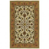Kaleen Home & Porch Chatham County Ivory 2 ft. x 3 ft Area Rug