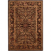 Brazil Dark Chocolate and Rust 2 ft. 2 in. x 3 ft. Area Rug