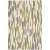 Nourison Waverly Bits and Pieces Violet 7 ft. 9 in. x 10 ft. 10 in. Area Rug