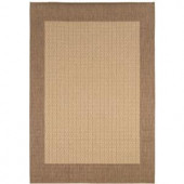 Home Decorators Collection Checkered Field Natural 8 ft. 6 in. x 13 ft. Area Rug