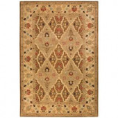 Home Decorators Collection Menton Brown Spice Brown/Soft Gold 2 ft. x 3 ft. Area Rug