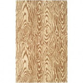 Martha Stewart Living Layered Faux Bois Sequoia 9 ft. x 12 ft. Area Rug