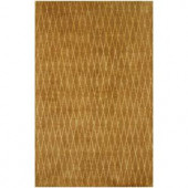 BASHIAN Greenwich Collection Wired Diamonds Mocha 2 ft. 6 in. x 8 ft. Area Rug