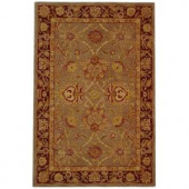Safavieh Anatolia Grey and Red 9 ft. 6 in. x 13 ft. 6 in. Area Rug