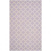 Safavieh Cambridge Lavender/Ivory 6 ft. x 9 ft. Area Rug