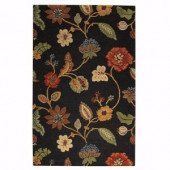 Home Decorators Collection Portico Brown 3 ft. 6 in. x 5 ft. 6 in. Area Rug