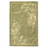 Home Decorators Collection EmInence Sage and Cream 2 ft. x 3 ft. Accent Rug