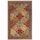 Home Decorators Collection Stratton Blue 8 ft. x 11 ft. Area Rug