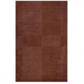 Home Decorators Collection Mesa Brown 5 ft. 3 in. x 8 ft. 3 in. Area Rug