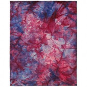 LR Resources Tiedy Overdyed Multi 5 ft. x 7 ft. 9 in. Plush Indoor Area Rug