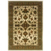 Expressions Enchantment Cream 2 ft. x 3 ft. Area Rug