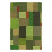 Kaleen Moods Foundation Avocado 5 ft. x 7 ft. 9 in. Area Rug