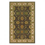 Home Decorators Collection Marlborough Chocolate 7 ft. 6 in. x 9 ft. 6 in. Area Rug
