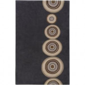 Artistic Weavers Gustine Charcoal 2 ft. x 3 ft. Accent Rug