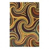 Kaleen Indra Kaleidoscope Refraction 5 ft. x 7 ft. 9 in. Area Rug