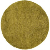 Courtois Lime 8 ft. Round Area Rug