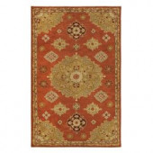 Home Decorators Collection Bromley Red 2 ft. x 3 ft. Area Rug