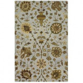 Home Decorators Collection Duchess Pewter 7 ft. 6 in. x 9 ft. 6 in. Area Rug