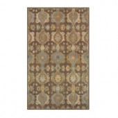 Home Decorators Collection Touraine Brown 3 ft. x 5 ft. Area Rug