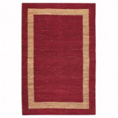 Home Decorators Collection Boundary Red 12 ft. x 15 ft. Area Rug