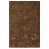 Home Decorators Collection Lancaster Dark Brown 3 ft. x 5 ft. Area Rug