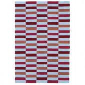 Kaleen Matira Cranberry 2 ft. x 3 ft. Area Rug