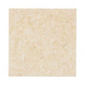 Jeffrey Court Creama 6 in. x 6 in. Honed Marble Floor/Wall Tile (4pieces/1 sq. ft./1pack)