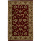 Nourison India House Red 5 ft. x 8 ft. Area Rug