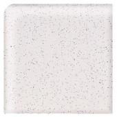 Daltile Semi-Gloss Pepper White 2 in. x 2 in. Ceramic Bullnose Corner Wall Tile