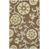 Kaleen Carriage Cornish Graphite 2 ft. x 3 ft. Area Rug