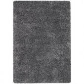 Chandra Orchid Black/Ivory 7 ft. 9 in. x 10 ft. 6 in. Indoor Area Rug